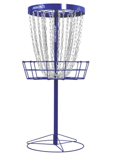 Axiom Pro Basket Royal Blå - transportabel disc golf kurv